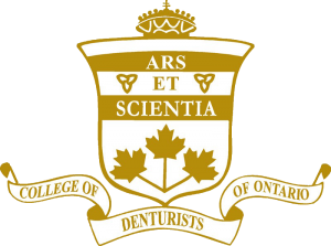 College of Denturist of Ontario logo